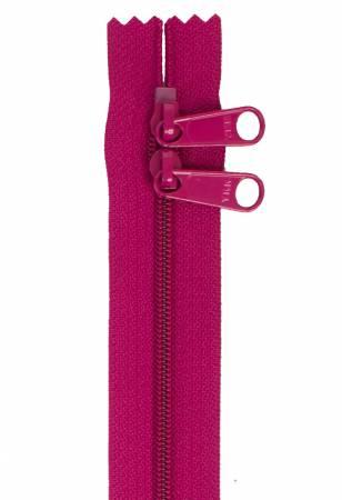 Handbag Zipper 30in Double-Slide - Wild Plum