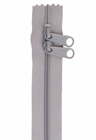 Handbag Zipper 40in Pewter