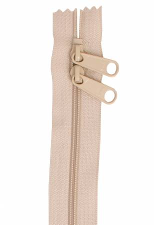 Handbag Zipper 40in Natural