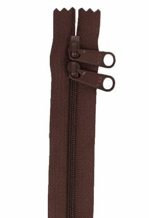 40 Handbag Zipper Double Slide Sable