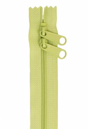 40 DOUBLE SLIDE ZIPPER - CHARTREUSE