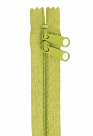 Handbag Zipper 40in Apple Green