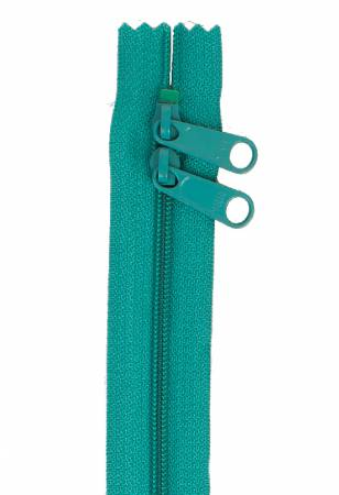 Handbag Zipper 40in Emerald-Double-Slide