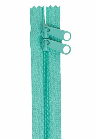 Handbag Zipper 40in Turquoise
