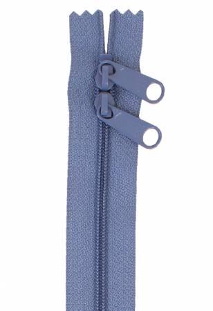 Handbag Zipper 40in Country Blue-Double-Slide