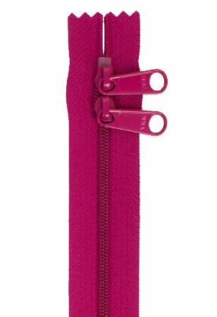 40 Handbag Zipper Double Slide Wild Plum