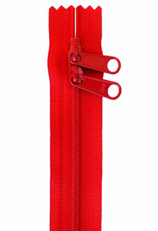 Handbag Zipper 40in Atom Red