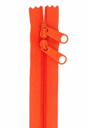 Handbag Zipper 40in Tangerine