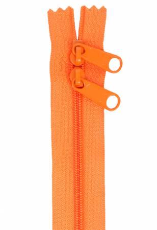 Handbag Zipper 40in Pumpkin-Double-Slide