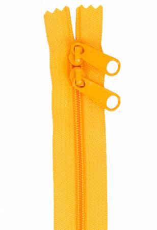 Handbag Zipper 40in Papaya-Double-Slide