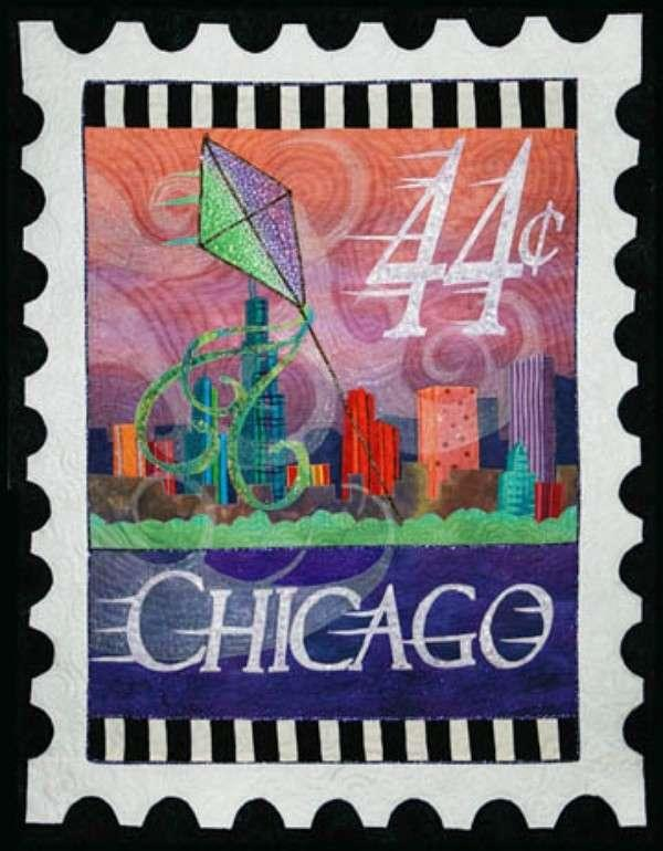 City Stamp - Chicago Pattern
