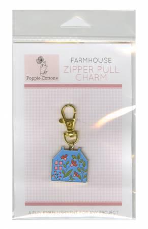 Zipper Pull Charm Farmhouse