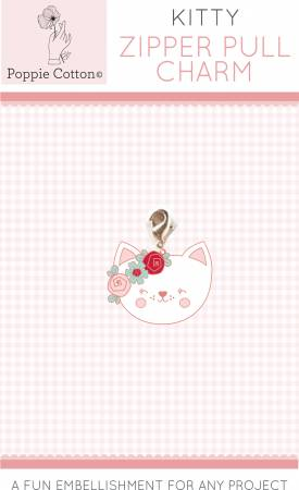 Zipper Pull Charm Kitty Charm