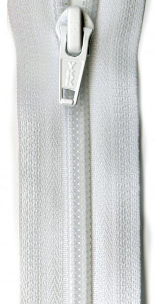 Ziplon 1-Way Separating Zipper 22in White