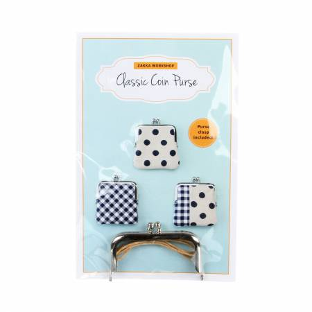 Kit Classic Coin Purse with Pattern