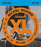 D'Addario EXL140 Nickel Wound Electric Guitar Strings Light Top/Heavy Bottom, 10...