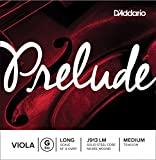 D'Addario Prelude Viola Single G String Long Scale, Medium Tension