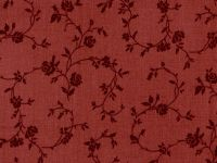 MDG Red Floral Overtone Print 108Quilt Backing