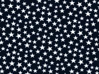 108 inch Quilt Backing- Black and White Stars