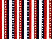 Red White Blue Stripe w Stars BD-49688-A03