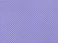 Choice Fabrics Treasures from the Attic Lilac w/White Dot