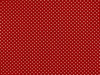 Choice Fabrics Treasures from the Attic Red w/white dot
