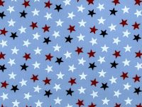 108 Inch Choice Backing stars on blue