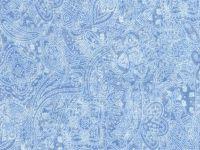 108-Inch x 108-Inch (3 Yards) Wide Backings, Light Blue Tonal