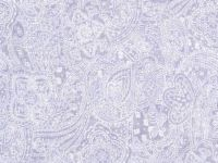 108 Inch Quilt Backing - Light Purple with white tonal paisley