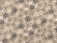108 Inch Choice Backing beige flower cd-49795-100