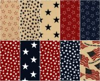 108 Inch Quilt Backing - Patriotic