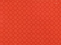 Geometric Shapes in Tonal Coral Red:  Mixed Medley by Choice Fabrics