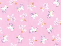 Timeless Treasure Prints Unicorns - Bubblegum Pink - Dear Stella