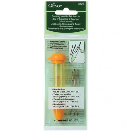 Darning Needle Set (Bent Tip)