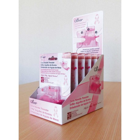 Desk Needle Threader Pink POP Display