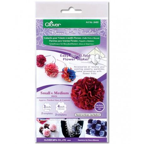 Flower Frill Templates Small & Medium