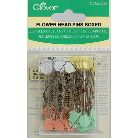 Flower Head Pins Boxed (100 ea.)