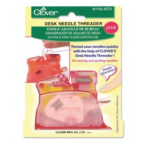 Clover - Desk Needle Threader - Pink