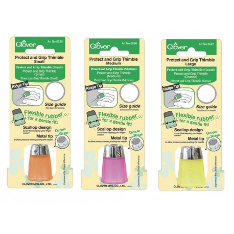 Protect and Grip Rubber Thimbles (Sm, Med, & Lg) / Clover