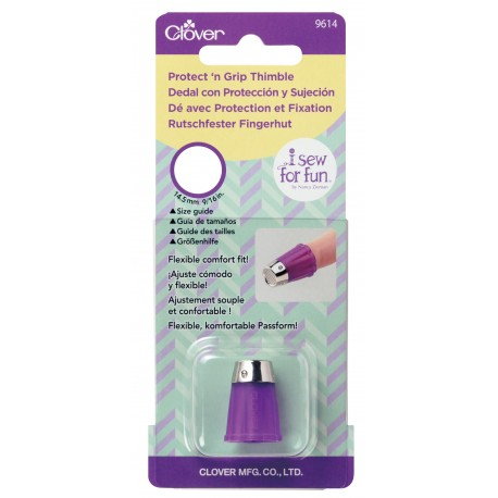 9614 I Sew For Fun Protect 'n Grip Thimble
