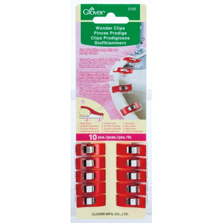 Clover Wonder Clips 10 PC