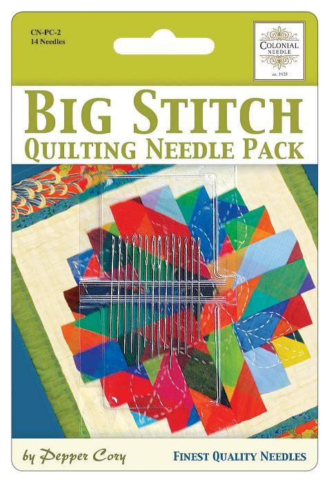 Big Stitch Quilting Needle Pack