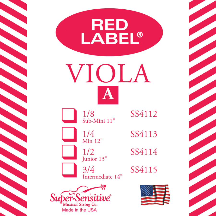 Red Label Single Viola A 14