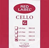 Red Label Single Cello G 3/4