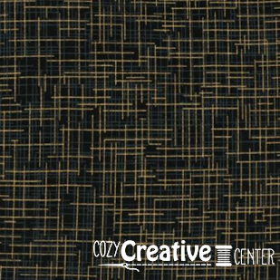 Quilter's Metallic Linen - Black