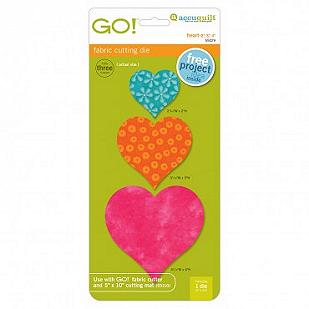 GO! Heart-2, 3, 4 Die #55029