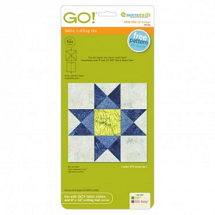 Accuquilt GO! Ohio Star 12 Finished - 55174