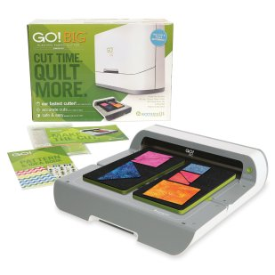 AccuQuilt GO! Big Electric Fabric Cutting System - Starter Set