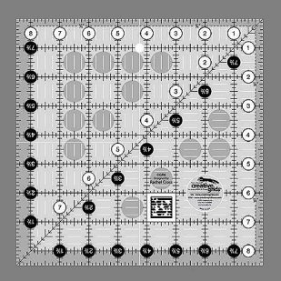 Creative Grids 8 1/2; Square Ruler
