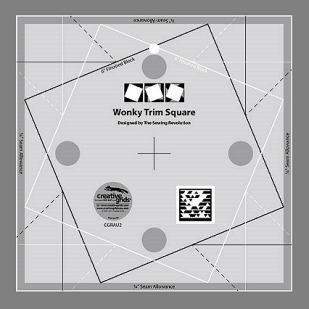 Creative Grids Wonky Trim Square